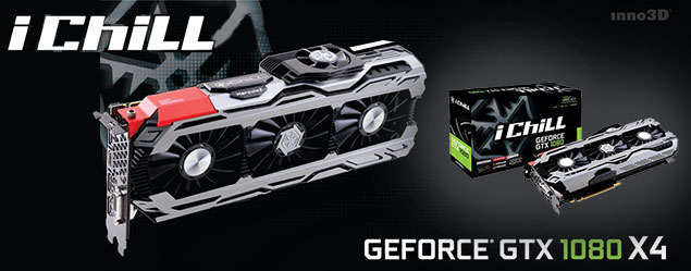 iChill GeForce GTX1080 X4