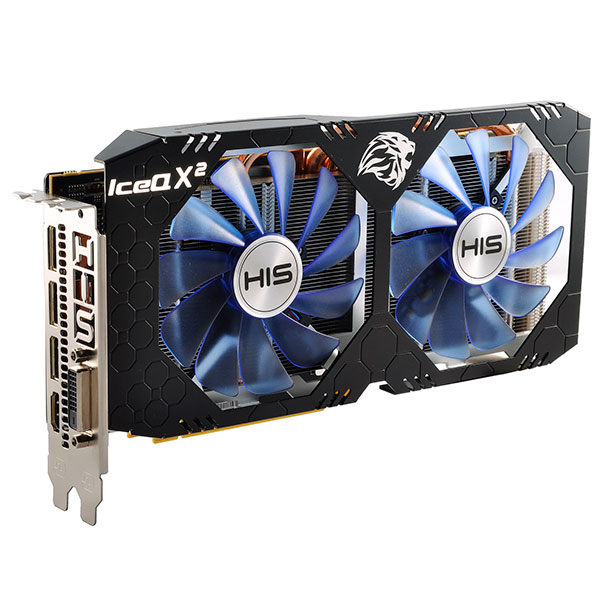 HIS RX580 IceX2 OC 8GB